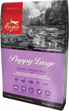Granule ORIJEN PUPPY LARGE 11,4kg