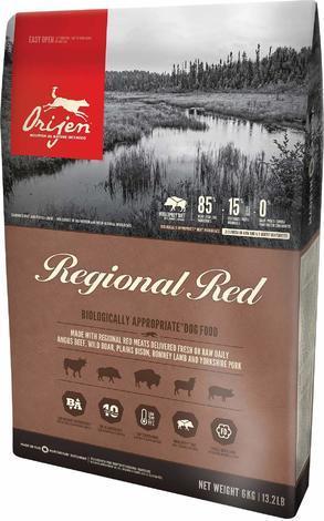 Granule ORIJEN REGIONAL RED 6kg