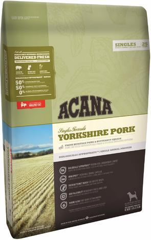 Granule ACANA Yorkshire Pork 6kg