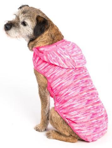 """Obleček - Svetr polar fleece""""Polarka""""růžový 36 cm"""