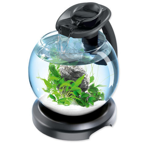 Akvárium set TETRA Duo Waterfall Globe černé !!! POUZE OSOBNÍ ODBĚR !!! 6,8l