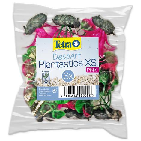 Rostliny TETRA DecoArt Plantastics XS růžové 6ks