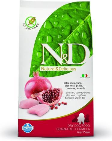 N&D Grain Free DOG Puppy Maxi Chicken & Pomegr