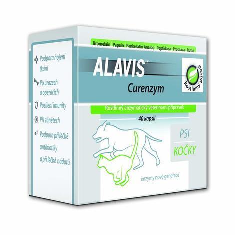 ALAVIS CURENZYM Enzymoterapie 40cps