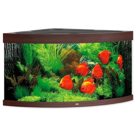 Akvárium set JUWEL Trigon LED 350 tmavě hnědé !!!POUZE OSOBNÍ ODBĚR!!! 350l