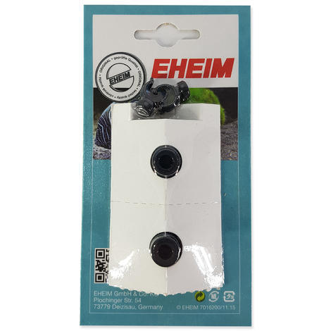 Náhradní přísavky EHEIM s klipem pro hadici Ø9 mm 2ks