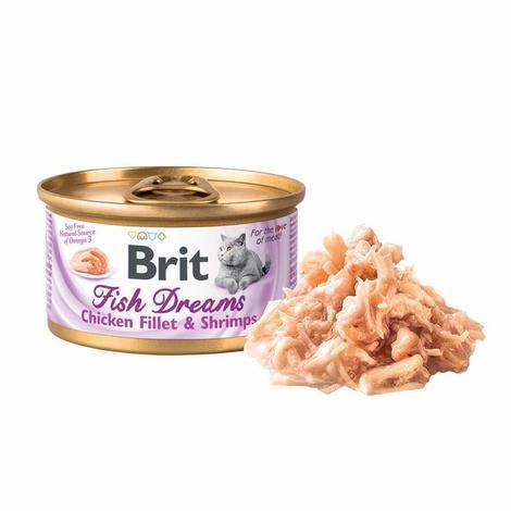 Brit Fish Dreams Chicken fillet & Shrimps 80g