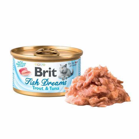 Brit Fish Dreams Trout & Tuna  80g