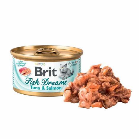 Brit Fish Dreams Tuna & Salmon  80g