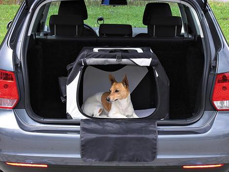 Box transportní TRIXIE Vario černo-šedý  S