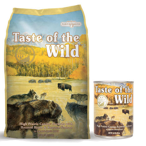 Taste of the Wild High Prairie Canine 13kg + konzerva ZDARMA  - 1