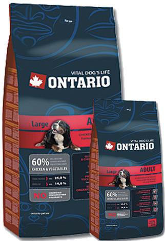 ONTARIO Adult Large Breed 13kg + 2,25kg ZDARMA + doprava ZDARMA  - 1