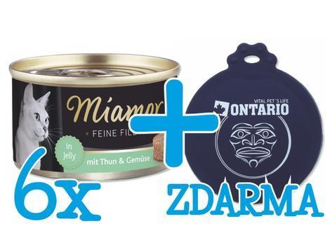 Konzerva MIAMOR Filet tuňák + zelenina + Univerzální víčko ZDARMA