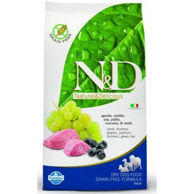 N&D Grain Free DOG Adult Mini Lamb & Blueberry