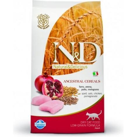 N&D Low Grain CAT Adult Chicken & Pomegranate