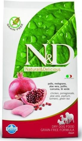 N&D Grain Free DOG Adult Mini Chicken&Pomegranat 2,5kg