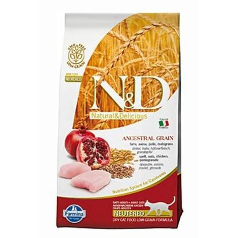 N&D Low Grain CAT Neutered Chicken & Pomegranate