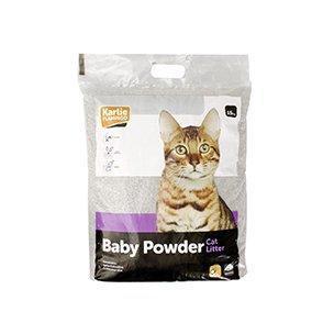 Podestýlka pro kočky s BABY POWDER vůní 15kg