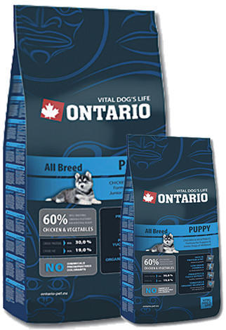 ONTARIO Puppy 13kg + 2,25kg ZDARMA + doprava ZDARMA  - 1