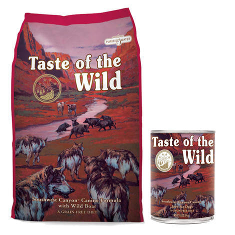 Taste of the Wild Southwest Canyon Canine 13kg + konzerva ZDARMA  - 1