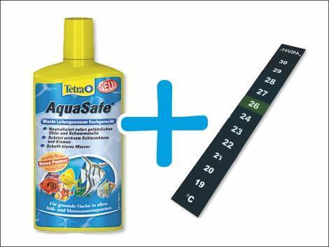 TETRA Aqua Safe 2x500ml + Teploměr ZDARMA