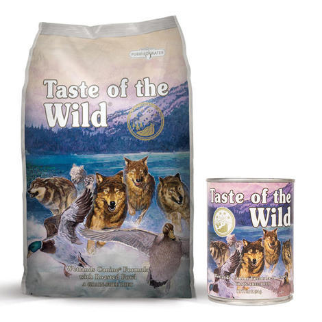 Taste of the Wild Wetlands Wild Fowl 13kg + konzerva ZDARMA - 1