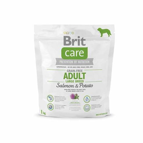 Granule BRIT Care Grain-Free Adult Large Breed Salmon&Potato - 2