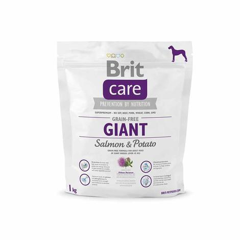 Granule BRIT Care Grain-Free Giant Salmon&Potato - 2