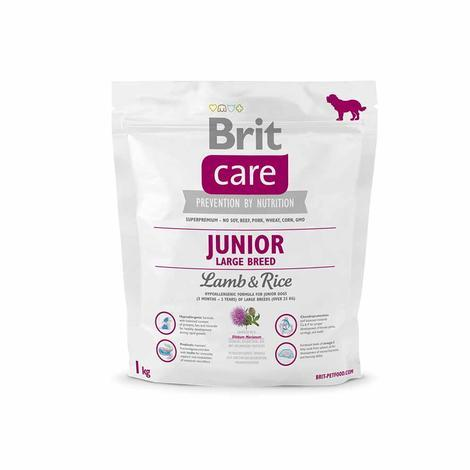 Granule BRIT Care Junior Large Breed Lamb & Rice - 2