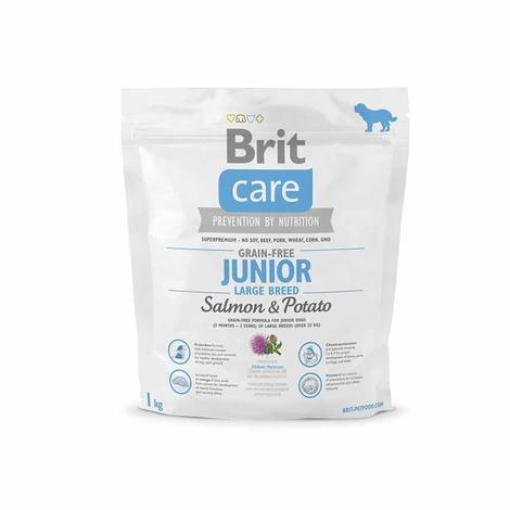 Granule BRIT Care Grain-Free Junior Large Breed Salmon & Potato - 2
