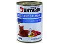 6 x ONTARIO konzerva Beef, Salmon, Sunflower Oil 400g + univerzální víčko zdarma - 2/3