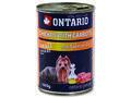 6 x ONTARIO konzerva Chicken, Carrots, Salmon Oil 400g + univerzální víčko zdarma - 2/3