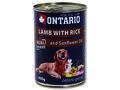 6 x ONTARIO konzerva Lamb, Rice, Sunflower Oil 400g + univerzální víčko zdarma - 2/4