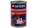 6 x ONTARIO konzerva Venison, Cranberries, Safflower Oil 400g+ univerzální víčko zdarma - 2/4