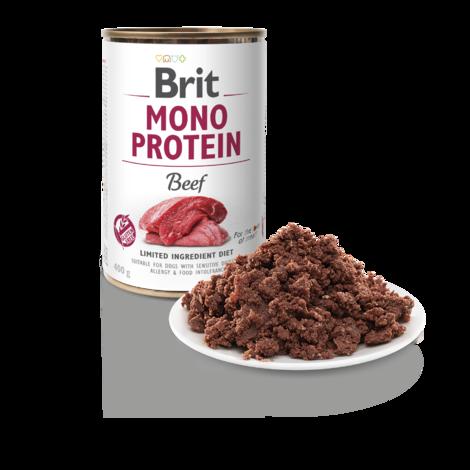 BRIT Mono Protein Beef 5+1 ZDARMA 400g - 2