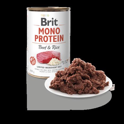 BRIT Mono Protein Beef & Brown Rice 5+1 ZDARMA 400g - 2