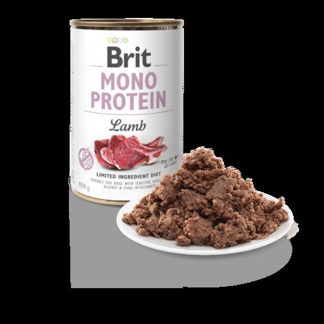BRIT Mono Protein Lamb 5+1 ZDARMA 400g - 2