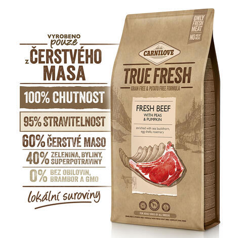 Carnilove True Fresh BEEF for Adult dogs - 2