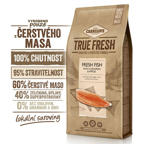 Carnilove True Fresh FISH for Adult dogs - 2
