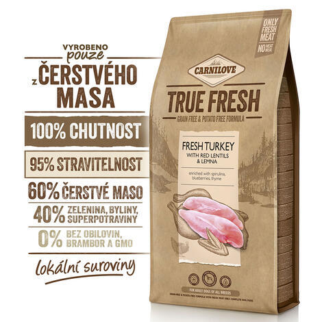 Carnilove True Fresh TURKEY for Adult dogs - 2