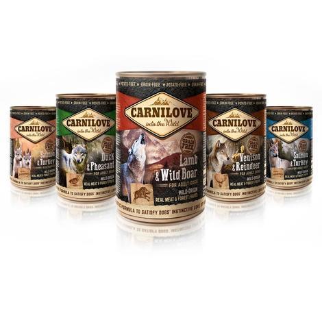 Konzerva CARNILOVE Wild Meat Duck & Pheasant 400g - 2