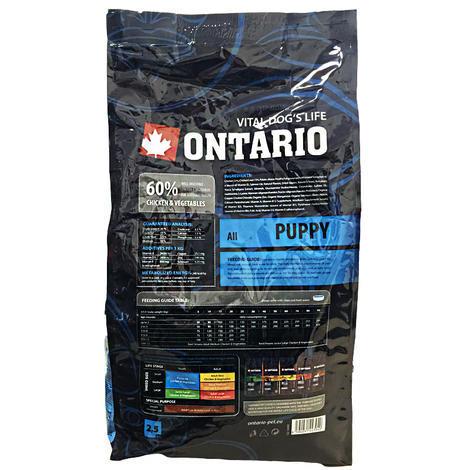 ONTARIO Puppy 13kg + 2,25kg ZDARMA + doprava ZDARMA  - 2