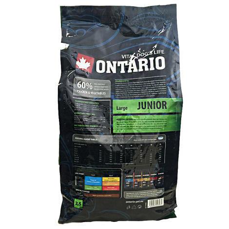 ONTARIO Junior Large Breed 13kg + 2,25kg ZDARMA + doprava ZDARMA  - 2