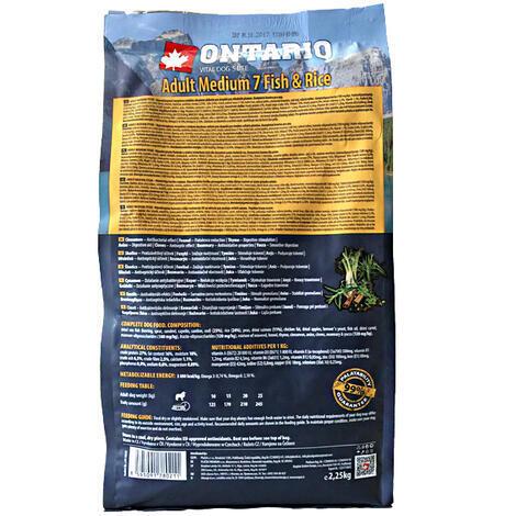 ONTARIO Adult Medium Fish & Rice  - 2