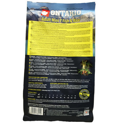 ONTARIO Adult Mini Fish & Rice  - 2