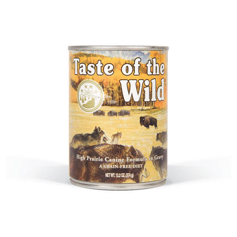 Taste of the Wild High Prairie Canine 13kg + konzerva ZDARMA  - 2