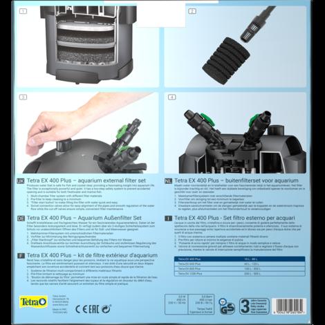 Filtr TETRA Tec EX 400 Plus vnější 1ks - 2