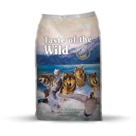 Taste of the Wild Wetlands Wild Fowl 13kg + konzerva ZDARMA  - 2
