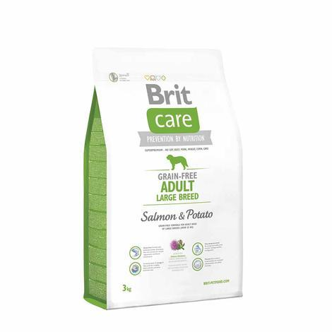 Granule BRIT Care Grain-Free Adult Large Breed Salmon&Potato - 3