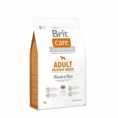 Granule BRIT Care Adult Medium Breed Lamb & Rice - 3